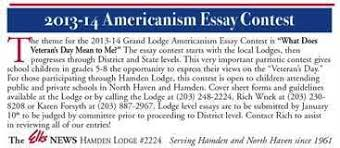 americanism essay docoments ojazlink americanism essays in bryan times weekly