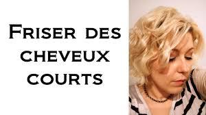 Coiffure Comment Je Frise Mes Cheveux Courts Diff Rentes Sortes