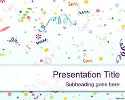 Design & order invitations online. Kids Birthday Powerpoint Template