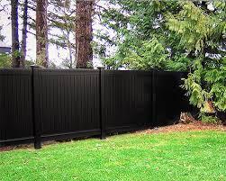 black vinyl fences. Contemporary Vinyl Vinyl Fence  Black Blacklinehhp Privacy And Black Vinyl Fences P