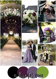 Purple and green wedding colors Lilac Black Purple And Green Wedding Colour Scheme Dark Weddings Wedding Colors Hue For Two Wwwahuefortwocom Pinterest Black Purple And Green Wedding Colour Scheme Dark Weddings