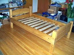 simple bed plans. Wood Simple Bed Plans