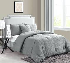 grey bedroom comforter sets king size bed comforters crinkle 9 t shirt jersey gray twin