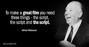 Alfred Hitchcock Quotes Stunning Alfred Hitchcock Quote To Make A Great Film You Need Three Things