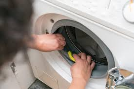 most reliable front load washer. Plain Most A Person Wiping Out The Internal Ring Of A Frontloading Washer With  Sponge To Most Reliable Front Load Washer N