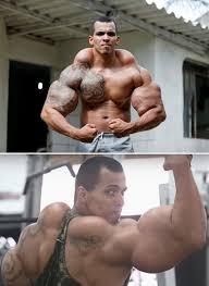 Lange arme bodybuilding