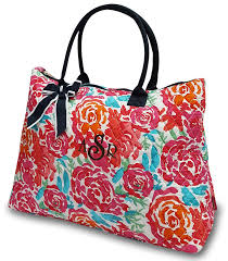 Quilted Floral Cotton Tote & Quilted Floral Cotton Tote. Zoom · Click to Enlarge Adamdwight.com