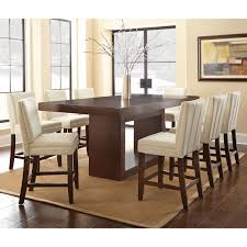 counter height dining table set. Steve Silver Antonio 9 Piece Counter Height Dining Table Set With Bennett Chairs | From Hayneedle.com E