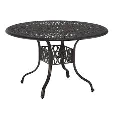 home styles fl blossom 48 in round patio dining table