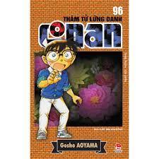Truyện tranh Conan tập 96 - Thám tử lừng danh