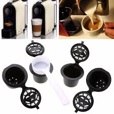 nespresso k cups. Perfect Cups 8x Refillable Reusable Coffee Capsules K Cups Pod  2 Spoon For Nespresso  Filter To S