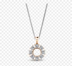 my girl lucky 8 diamond pendant set in