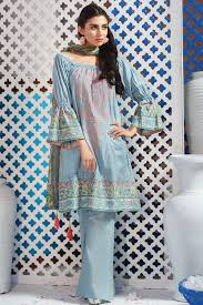 Casual Dress Designs Images 2018 Khaadi Lawn Chiffon Eid Dresses Designs Collection 2019