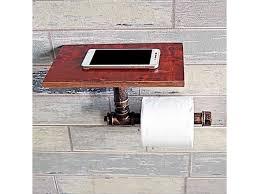 bathroom toilet paper holder with shelf