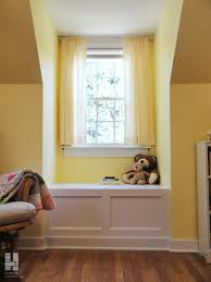Wonderful Home Interior Decoration With Various Built In Window Seat Ideas  : Simple And Neat Colorful