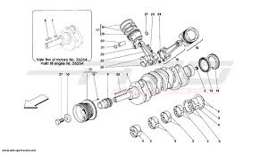 Ferrari 348 engine parts at atd sportscars atd sportscars ferrari 348 driving shaft connecting rods and pistons ferrari 348 enginehtml diagram of a ferrari