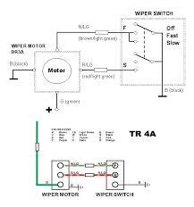 how to wire a lucas alternator diagram images diagram alternator lucas dr3 wiper motor wiring diagram u0026