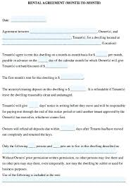 Another Word For Rent Printable Sample Rental Lease Agreement Templates Free Form Template