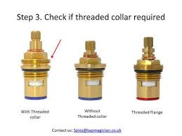 how to measure and identify replacement tap cartridge when tap manufacturer is unknown
