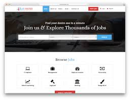 Career Page Design Templates Html Top 18 Job Board Websites Templates 2020 Colorlib