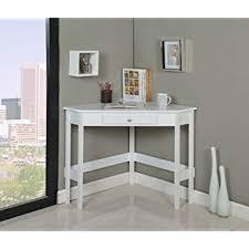 white corner desk. Beautiful Desk Kings Brand Furniture Wood Corner Desk With Drawer White To White A