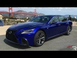 2018 lexus 450d. simple 2018 2018 lexus ls500 fsport u2013 an athletic twin turbo executive sedan throughout lexus 450d