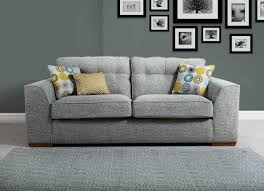 fabric sofas. Perfect Sofas Buoy01 Poppy 3 Seater Sofa In Fabric Range B Includes 2x Scatter Cushions And Sofas F