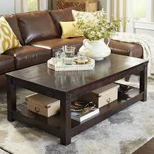 parsons large brown coffee table pier 1 imports