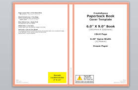 how to make a full print book cover in microsoft word for free ebook covers templates