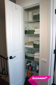 VIDEO]: How to Organize a Small Linen Closet