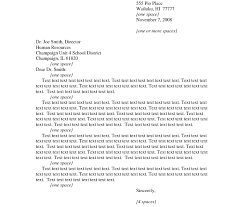 Formal Business Cover Letter Format Theveliger In Writingmples
