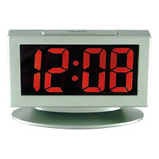 cool office clocks. Gray Desk Clock Alarm With Large Display Cool Clocks Digital India Modern For Home Office .