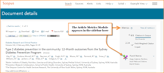 Whats New On Scopus Plumx Metrics Changes To Citation Overview