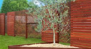 laser cut decorative metal fence panels