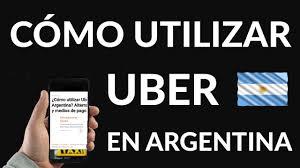 Resultado de imagen para pago  Argentina uber