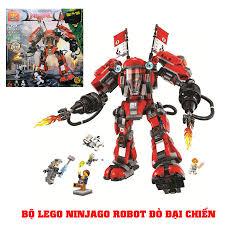 Báo giá Đồ chơi lego xếp hình Ninjago robot đỏ đại chiến (520 chi tiết,  dành cho bé từ 6+ trở lên) chỉ 300.000₫