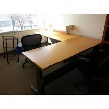 herman miller rounded edge 48 work table desk surface