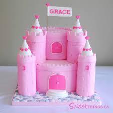 11 Castle Birthday Cakes For Girls Photo Princess Castle Birthday