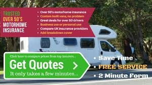 motorhome insurance over 50 drivers can save here