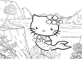 Hello Kitty Coloring Pages Printable Free To Print Online P Out For