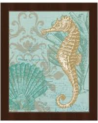 damask seahorse green framed canvas wall art damask seahorse green 11 x 14 on damask framed wall art with don t miss this deal on damask seahorse green framed canvas wall