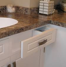 Curved Bathroom Vanity Cabinet Kitchens Baths