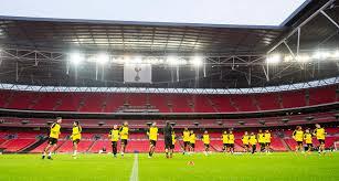 Eines der modernsten stadien europas: First Leg Against Tottenham At Wembley Stadium Bvb De