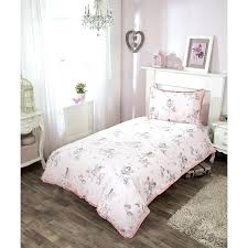 dusty pink single duvet cover set new pale about remodel kids fairy sets with matching curtains