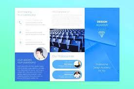 Free Fold Brochure Template Word Publisher Tri Microsoft