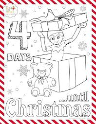Elf On The Shelf Coloring Pages Trustbanksurinamecom