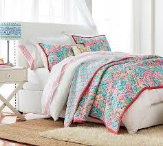 sheet fan fan sea pants reversible quilt sham pottery barn and lilly