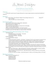 Event Planner Resume. Wedding ...