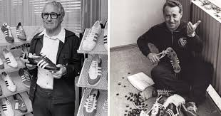 adidas and puma were founded by two brothers who began as partners and ended as enemies