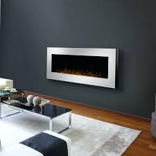 Full Image for Wall Mount Modern Electric Fireplace Contemporary 34 By  Solaire Related Image Mounted Fireplaces ...